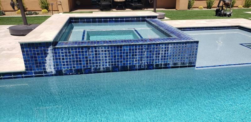 pool acid washing and pool draining